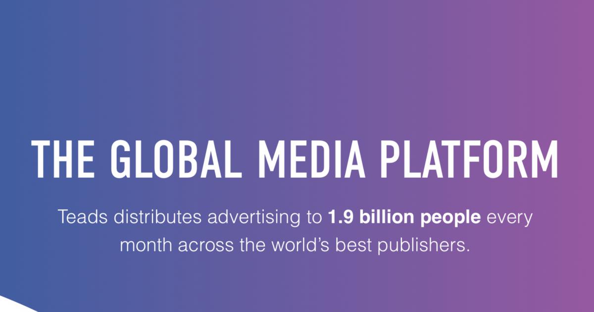 Kreatív Online - Az Adaptive látja el a Teads hazai sales képviseletét